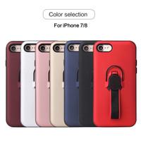 Case Stand Ring Holder Magnet Bumper Matte Casing Iphone 8