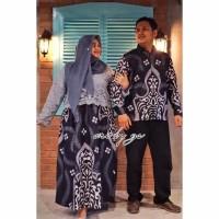PO SUPER JUMBO couple batik sarimbit gamis brokat baju pasangan sera