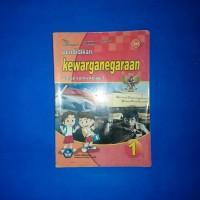 Buku Pendidikan Kewarganegaraan Untuk SD Kelas 1 BSE