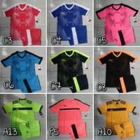 Baju Kaos Futsal/Bola Anak Junior Nike Adidas Puma Stelan
