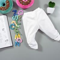 legging bayi dan anak banyak warna lucu murah - Putih