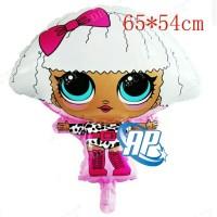 balon foil LOL DIVA/ balon LOL body / balon karakter LOL