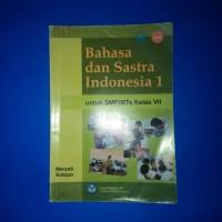 Buku Bahasa Dan Sastra Indonesia Untuk SMP Kelas 1 BSE
