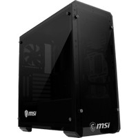 CASING MSI MAG Bunker - MID TOWER Double Tempered Glass Gaming Case