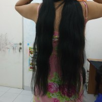 rambut sambungan - hair extention 75 cm rambut asli