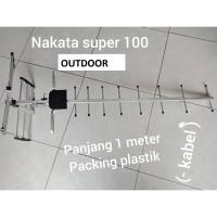 Antena outdoor NAKATA super 100 pjg 1 meter cocok tv tabung dan tv led
