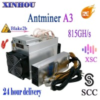 Antminer A3 815GH/s ASIC Blake2b Miner with 1800W