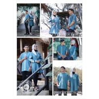 XGGRGS,Busana muslim couple atasan tunik casual cewek remaja perempuan