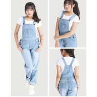 XBDRBE,Jumsuit overall baju kodok denim anak remaja perempuan