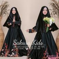 sakura kids baju muslim anak remaja simple pesta