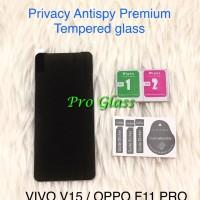 OPPO F11 PRO Privacy Anti Spy / Antispy Premium Tempered Glass