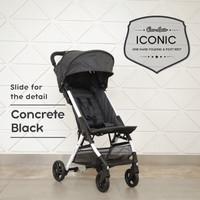 Stroller bayi baby stoller cocolatte iconic 3 posisi cabin size + Tas