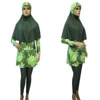Baju Renang Muslim Syari Kerudung Panjang & Lebar BRM-S291