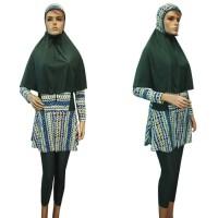 Baju Renang Muslim Syari Kerudung Panjang & Lebar BRM-S292