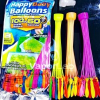 HAPPY BABY BALLOONS MAGIC BUNCH WATER BALLOON PERANG BOM BALON AIR
