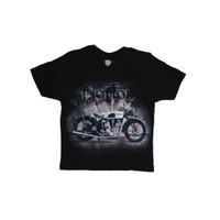 T-Shirt/ Kaos Distro Bandung Anak Motor Norton Beton 011
