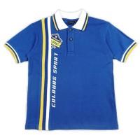 KIDS ICON - Polo T-shirt Anak Laki-laki COLOURS Printing -CL201400190 - 10-11 tahun