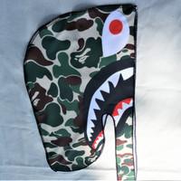 Durag BAPE SHARK WGM Import High Quality from USA ikat kepala hiphop