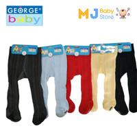 George Baby - Legging Baby Tutup Kaki Polos Warna