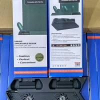 Kipas Vertical Cooling Fan PS4 Charging Stand Dock Fat Slim Dan Pro