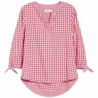 Pamela Blouse Jumbo Red [Baju Atasan Wanita 0133] SD0