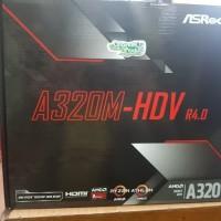 ASRock A320M-HDV R4.0 (AMD A320, AM4, DDR4)