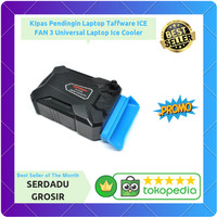 Kipas Pendingin Laptop Taffware ICE FAN 3 Universal Vacuum Ice Cooler