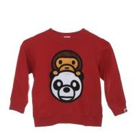 Baby Milo & Panda Applique Sweater (BAPE KIDS)