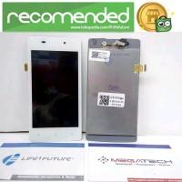 LCD TOUCHSCREEN OPPO R1001 JOY R1011 WHITE ORIGINAL Murah