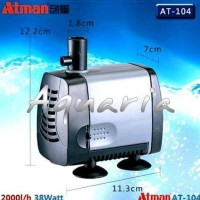 Atman Water Pump AT-104 Pompa Celup Aquarium & Kolam