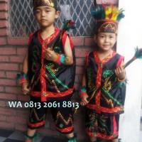 HOT SALE Dayak TK Wanita   Baju Adat Kostum Anak Karnaval Parade Pawai