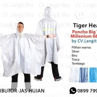 Jas Hujan Ponco Big Top Milenium Tiger Head 68206 Raincoat Poncho