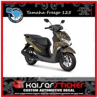DECAL STICKER MOTOR YAMAHA FREEGO 125 FULL BODY TRIBAL