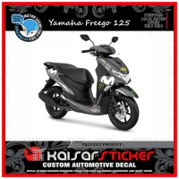 DECAL STICKER MOTOR YAMAHA FREEGO 125 FULL BODY NEW GP 2019