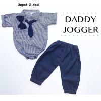 3pc@45 babeebabyshop daddy JOGGER jumper anak jumper bayi jeans bayi