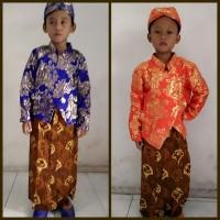 Baju Adat Jawa Lame Anak Laki Kostum Kartinian Karnaval Nasional
