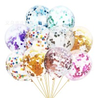 Balon Latex / Lateks Confetti 12 inch