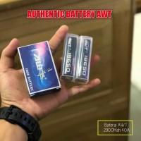 Baterry Baterai Batre Batere 18650 Authentic AWT 2900mah 40A original
