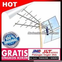Antena TV Super Peka Titis TT1000 untuk Digital dan Analog Banyak Te