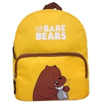 We Bare Bears Mini Backpack / Tas Ransel Sekolah Yellow Pastel