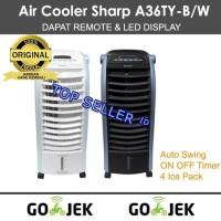 Sharp Air Cooler PJ-A36TY-B/W PROMO GOJEK KOTA PONTIANAK