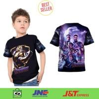 Kaos, Tshirt, Baju Anak Karakter Thanos Avengers Endgame End Game