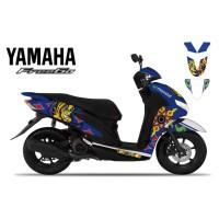 DECAL STICKER MOTOR YAMAHA FREEGO THE DOCTOR