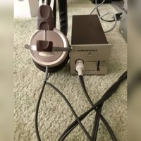 Audiotechnica stereophone adaptor At-706 like new original mulus