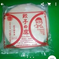 Kulit Gyoza diameter 9cm.100% Halal