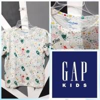 Baju Branded Anak/Merk GAP/TShirt/Keren/Adem/Lembut/Kaos Anak Cowok
