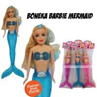 Mainan Boneka Barbie Karakter Mermaid Putri Duyung
