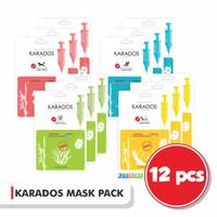 [Promo] 12 Sachet Karados Mask Pack--Masker Wajah Made in Korea