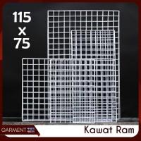 Ram kawat 115 x 75 pajangan aksesoris rak display accessories hp MURAH