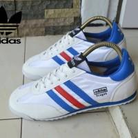 Sepatu Sneakers Pria Adidas Dragon Putih France Casual Import